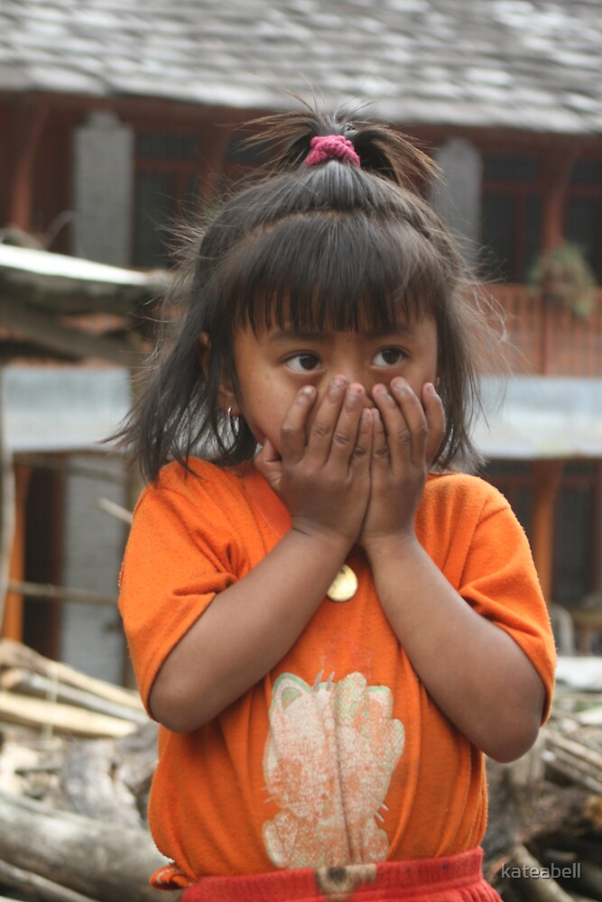 Nepalese girl by kateabell