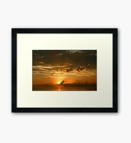 Lido Key Sunset Framed Print