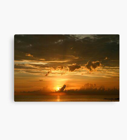 Lido Key Sunset Canvas Print