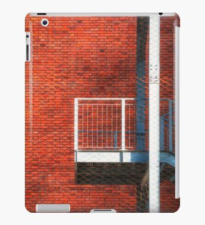 Fire escape iPad Case/Skin