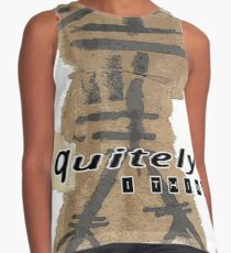 quietly i think Contrast Tank