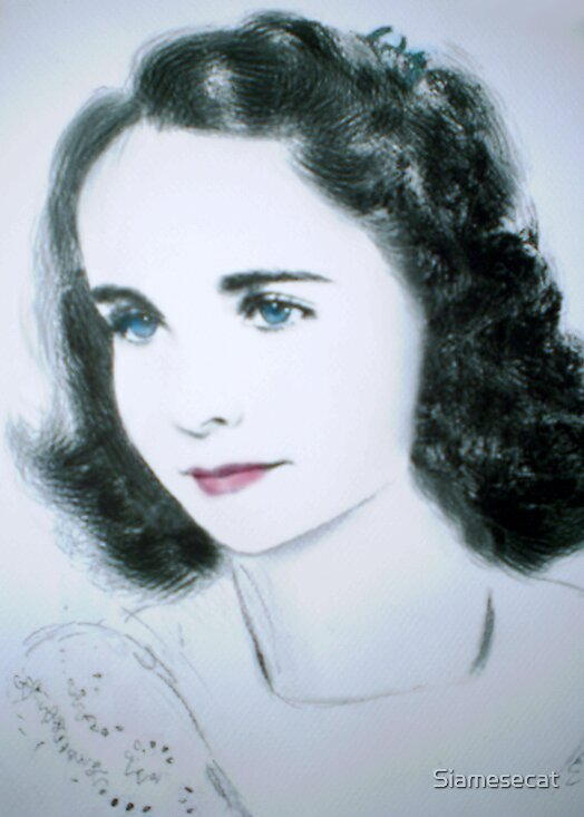 Young Elizabeth... by Siamesecat