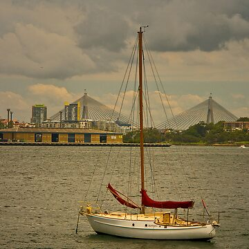View to Anzac Bridge by RosalieDale
