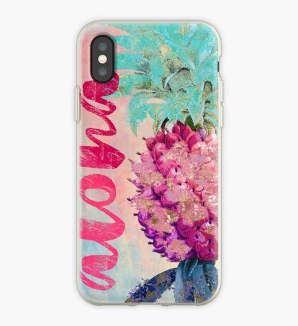 Aloha Pineapple iPhone Case