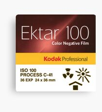 Kodak Ektar 100 - 35mm Color Negative Film Canvas Print