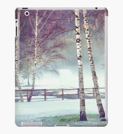 Two birches iPad Case/Skin