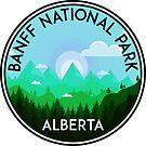 BANFF NATIONAL PARK ALBERTA CANADA Skiing Ski Mountain Mountains Snowboard Boating Hiking 9 by MyHandmadeSigns