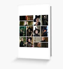 McGonagall # 1 Greeting Card