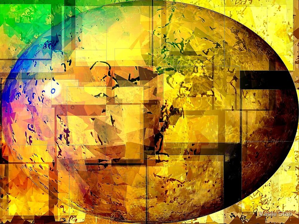 Cosmic Egg Cracked by Vasile Stan