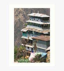 Himalayan Guesthouse Art Print