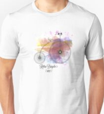 Retro Bicycle T-shirt cartoon Unisex T-Shirt