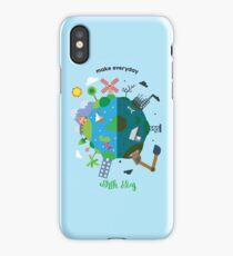 make everyday earth day iPhone Case