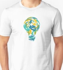 Lamp Color cartoon T-shirt Unisex T-Shirt