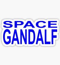 Space Gandalf Sticker