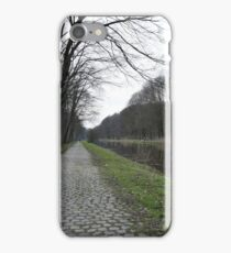 Empty road iPhone Case/Skin