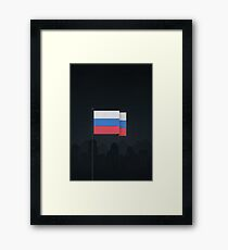 Russia	 Framed Print