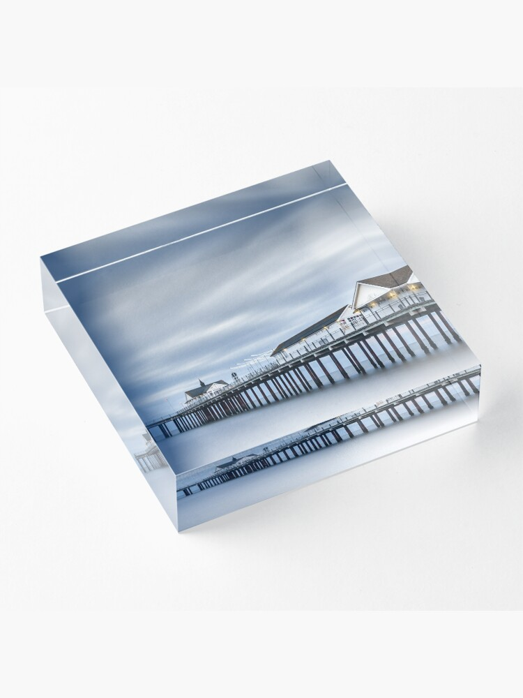 Alternate view of Silence Acrylic Block