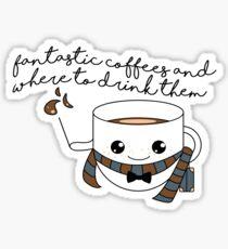 fantastic coffees - new version Sticker