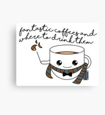 fantastic coffees - new version Canvas Print