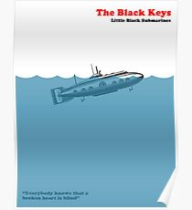 Little Black Submarines Poster