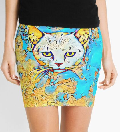 Catus Mini Skirt