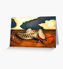 Can of worms Greeting Card