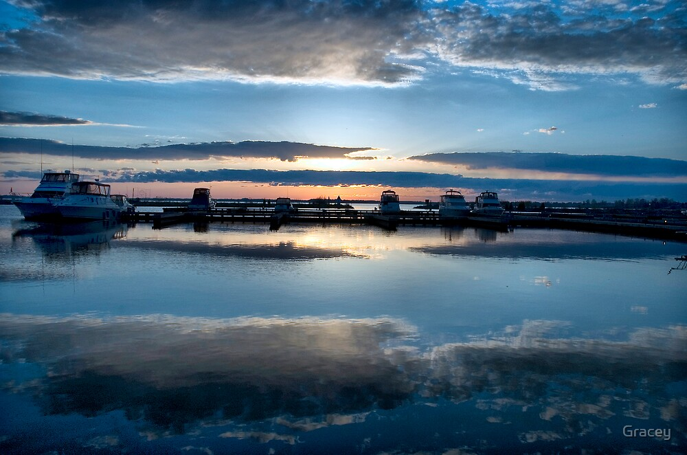 Dawn Harbour by Gracey