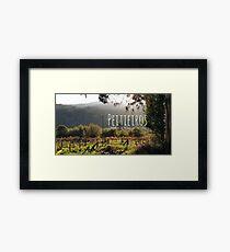 Peitieiros,Val Miñor, Galicia, Spain Framed Print