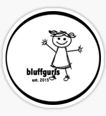 Bluff Girls Sticker
