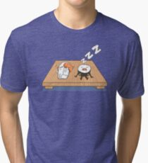 Sushi Snore Tri-blend T-Shirt