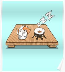 Sushi Snore Poster