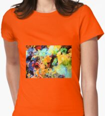 Artists Palette  Women's Fitted T-Shirt
