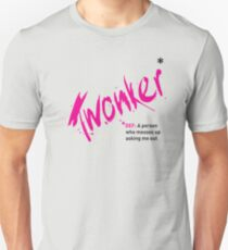Date T Shirt - Twonker with black definition Unisex T-Shirt