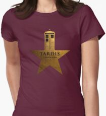 TARDIS - It's Bigger on the Inside Womens Fitted T-Shirt