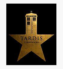 TARDIS - It's Bigger on the Inside Photographic Print