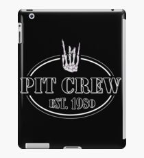 Mosh Pit Crew iPad Case/Skin
