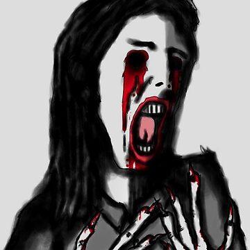 """""""Blinded"""" by BleedingArt"""
