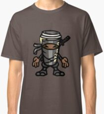 Coffee ninja or ninja coffee? - grey Classic T-Shirt