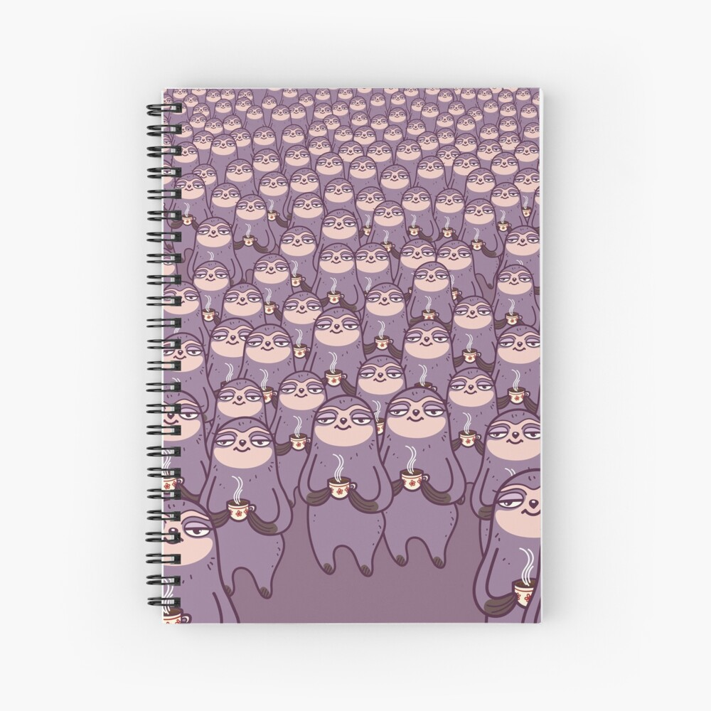 Sloth-tastic! Spiral Notebook