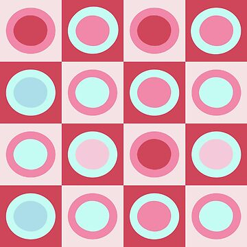 Retro Circle Pattern by Olooriel