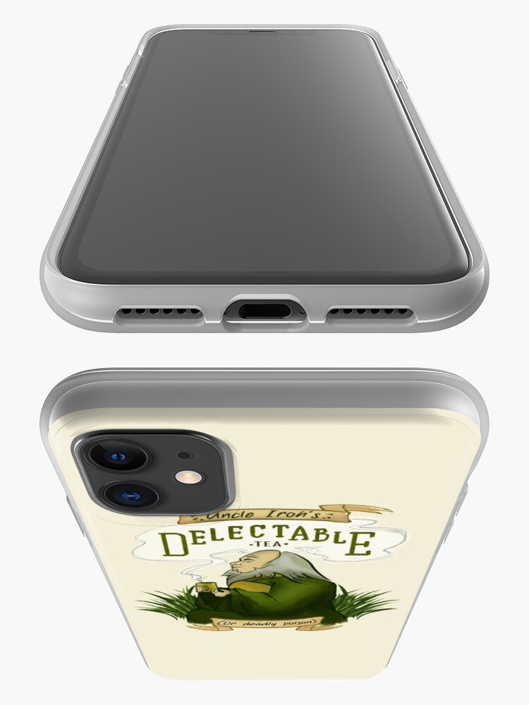 Alternate view of Iroh's Delectable Tea iPhone Case & Cover