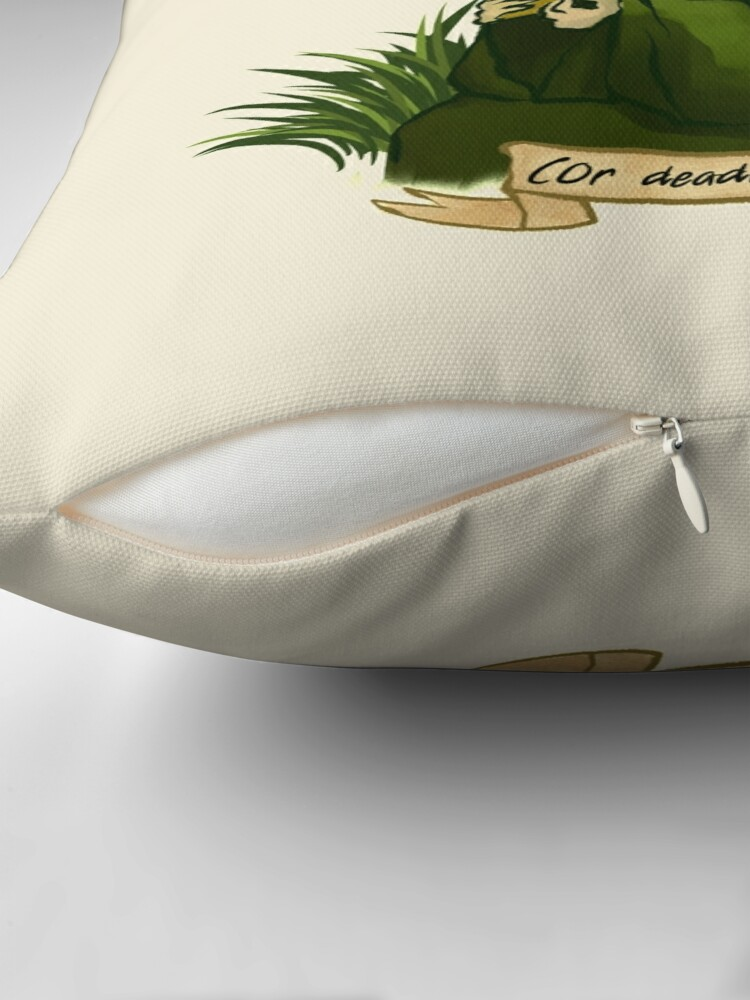 Alternate view of Iroh's Delectable Tea Throw Pillow