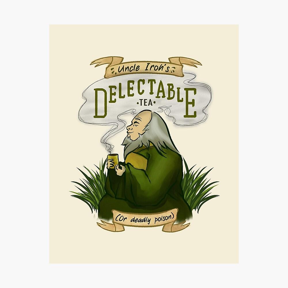 Iroh's Delectable Tea Photographic Print