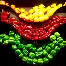 Peppers by Chet  King