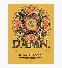 kendrick lamar damn kung fu kenny coachella Photographic Print