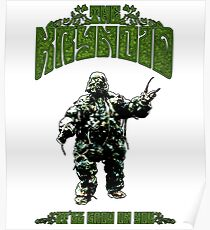 Seeds of Doom Plant Monster Poster