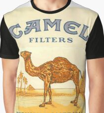 Camel  Graphic T-Shirt