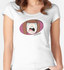 Crybaby Women's Fitted Scoop T-Shirt