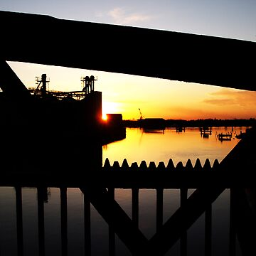 Great Yarmouth Iron Bridge by JKeeley