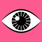 Eyes Wide Open - Lipstick Pink by daisy-beatrice